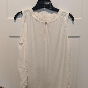 Loft ivory blouse size small.